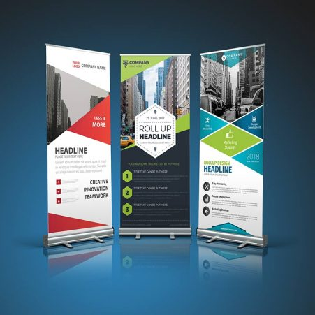 retractable-banners - Made locally in Quebec, Canada - Easy to carry